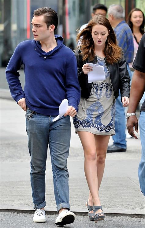leighton meester and ed westwick ed westwick and leighton meester zimbio