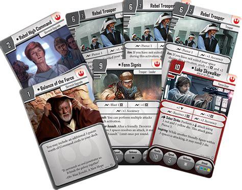 wars imperial assault card template prep for battle flight