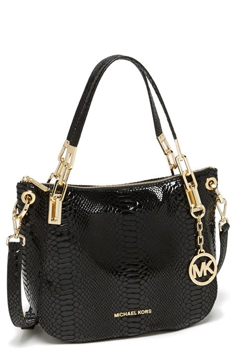 michael michael kors brooke medium leather shoulder bag