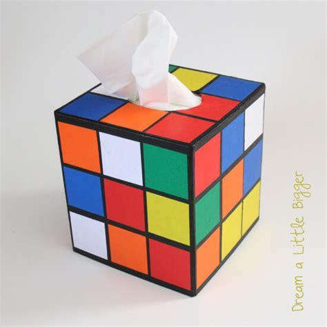 tutorial rubik cub rubik s cube tissue box cover tutorial dream a little bigger