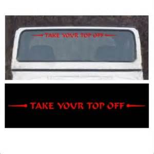 Take Your Top Jeep Sticker Jeep Wrangler Decals Stickers Jeep Decal Stickers