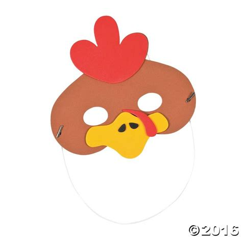 printable rooster mask 17 best images about chinese new year on pinterest