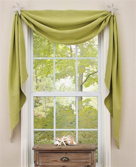 fishtail swag curtains crawford fishtail curtain sea park designs swag