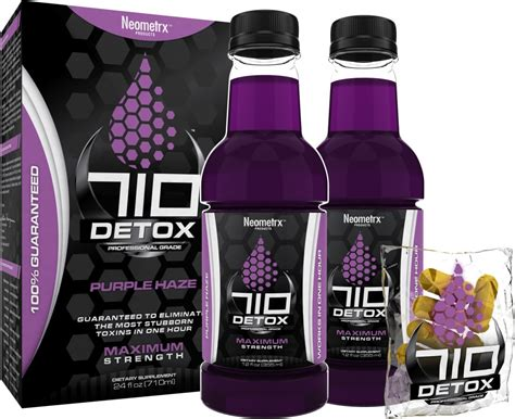 Purple Ringer Detox Drinks by 710 Detox By Neometrx Inc Best One Hour Detox
