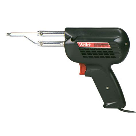 Patri Solder 200 Watt weller d550 professional heavy duty solder gun 120v 260 200w with two position trigger at