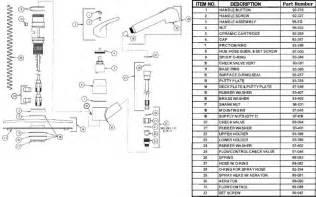 Kwc Faucet Parts Spray Gerber 40 460 Kitchen Faucet Parts