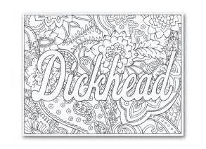 swear words coloring book remixed gifts