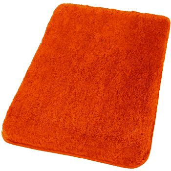 Relax Plush Bath Rugs Extra Large Bathroom Rugs Orange Bathroom Rug
