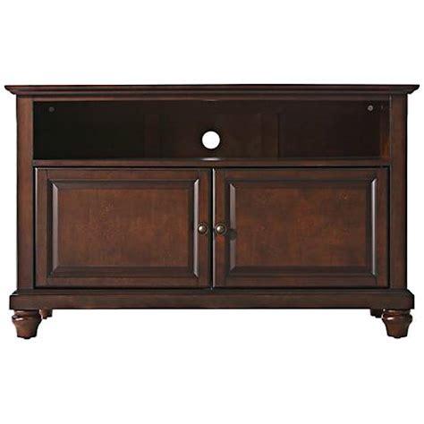 vintage tv with doors cambridge 2 door vintage mahogany 42 quot tv stand 7g932