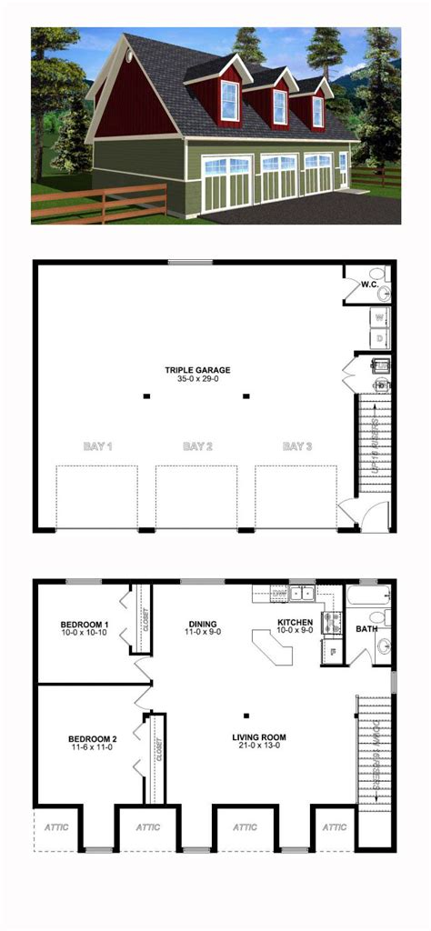 Garage Apartment Plans by Garage Plan 99939 Garage Apartment Plans
