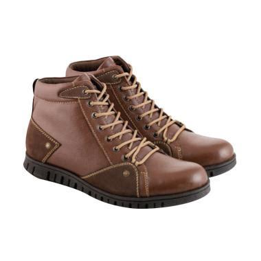Sepatu Kulit Pria Pa 02 Warna Coklat jual sepatu boots kulit pria daftar harga spesifikasi terbaik blibli