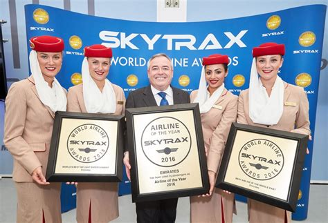 emirates skytrax emirates named world s best airline at 2016 skytrax