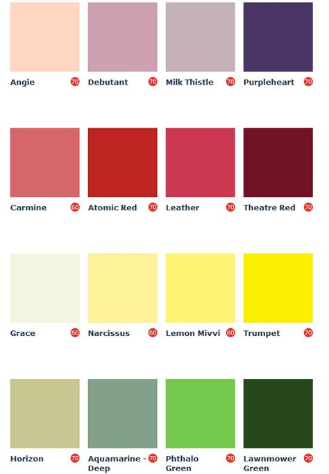 chalk paint colors homebase paint colour charts homebase homebase paints colour