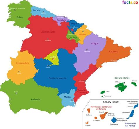 map of spain with cities spain outline map clipart best
