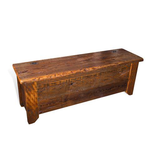 storage bench sale barnwood acadiana storage bench