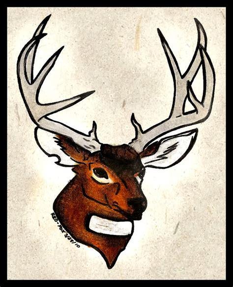 mule deer tattoo designs deer images designs