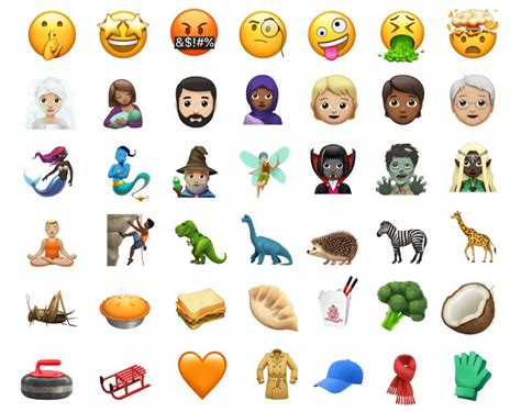 emoji baru ios 11 1 apple releases ios 11 1 with over 70 new emojis bug fixes