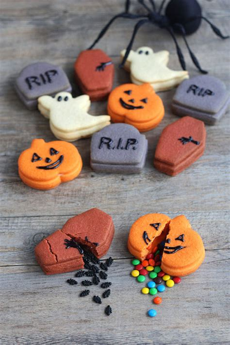 imagenes galletas halloween 5 galletas de halloween f 225 ciles pequerecetas