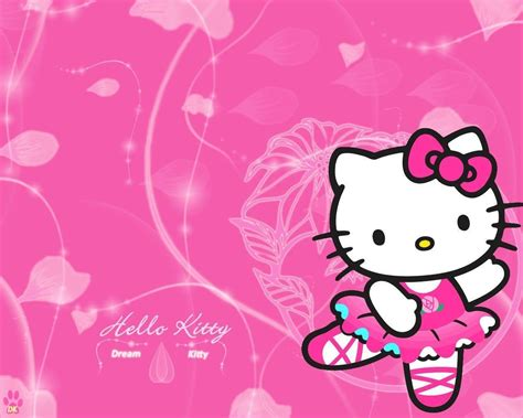 hello kitty images wallpaper hello kitty birthday wallpapers wallpaper cave