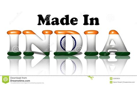 made in india made in india stock images image 25063634