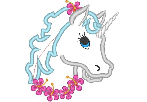 embroidery design unicorn unicorn head machine embroidery designs applique rainbow