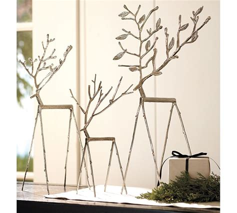 vanhook co pottery barn twig reindeer knockoffs