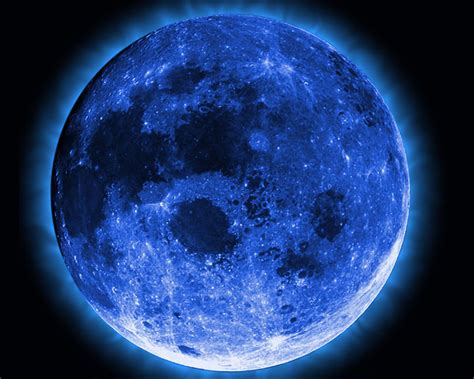 what is the color of the moon once in a blue moon phenomenon has nothing to do with