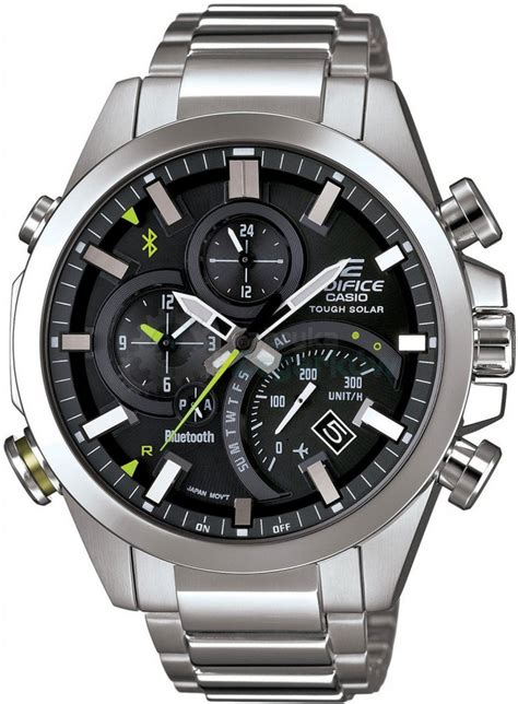 casio bluetooth zegarek casio edifice bluetooth iphone samsung eqb 500d