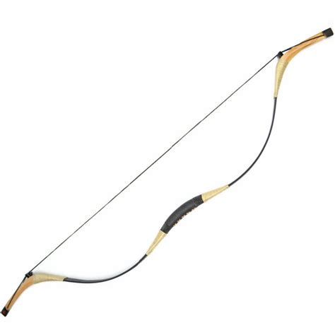 Handmade Bow And Arrow - traditional mongolian handmade ambidextrous recurve bow
