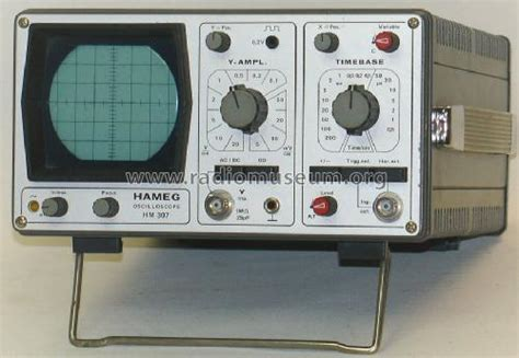 Hm Frankfurt by Oscilloscope Hm307 1 Equipment Hameg Gmbh Frankfurt Build
