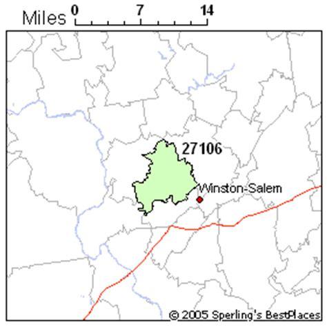 zip code map winston salem best place to live in winston salem zip 27106 north