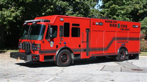 winter garden health department blacked out rescue built by ferrara apparatus