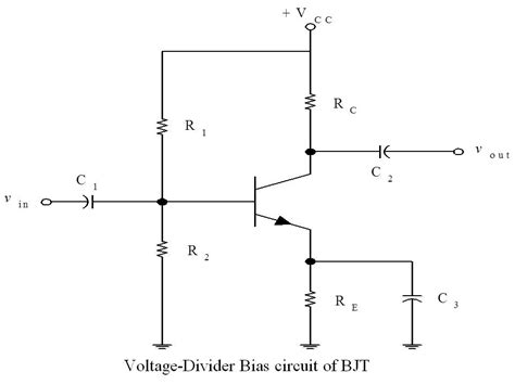 capacitor divider dc transistor biasing q or quiescent point dc load line ac load line stablity factor ece tutorials