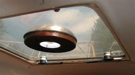 solar fan for boat hatch sj23 tech tip c19 cabin ventilation nicro solar vent