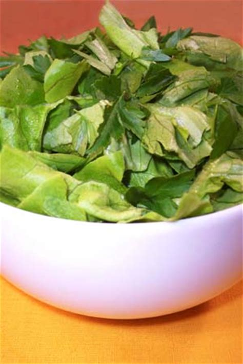 Simple Side Salad With Herbs Chagne Vinaigrette by Simple Side Salad With Herbs Chagne Vinaigrette