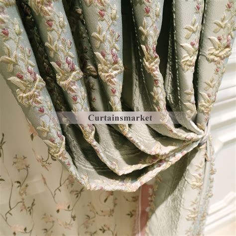 Best Selling Elegant Green Room Darkening Curtains
