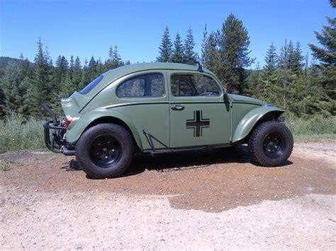 purchase   vw baja bug olive drab military  real head turner   saint
