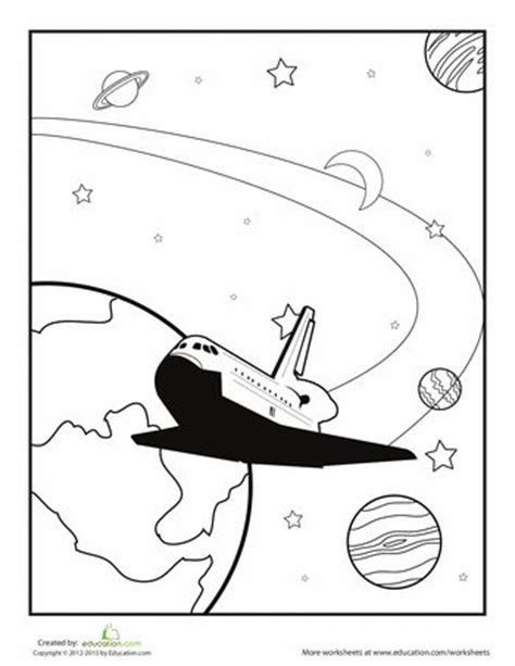 preschool coloring pages outer space 83 best coloring pages images on pinterest outer space