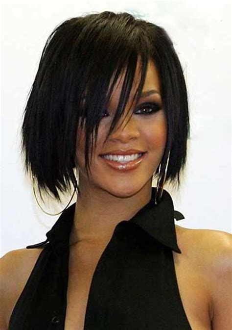 rihanna hairstyles bob haircut makes its debut on ellen todaycom 15 rihanna bob haircut bob hairstyles 2017 short