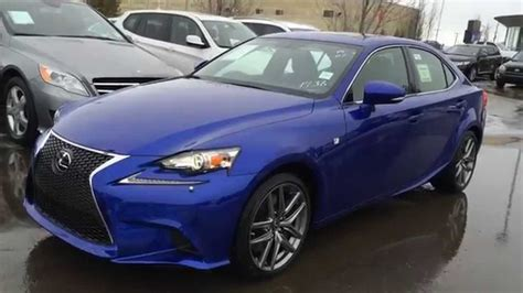 sporty lexus blue new ultrasonic blue 2015 lexus is 350 awd f sport series 2
