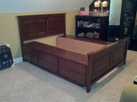 diy queen size platform bed diy king size platform bed plans image mag