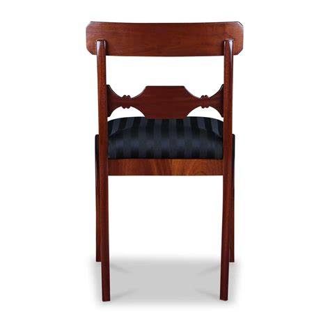 biedermeier stuhl biedermeier stuhl mahagoni und m 246 bel stilwohnen de