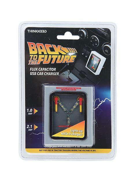 flux capacitor cost back to the future flux capacitor usb car charger topic