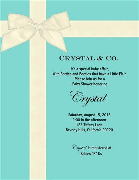 free tiffany and co invitation template premium