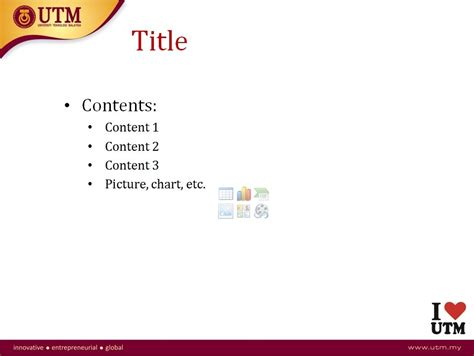 presentation template office of corporate affairs