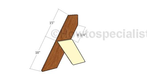 aldo leopold bench plans howtospecialist how to build step by step diy plans