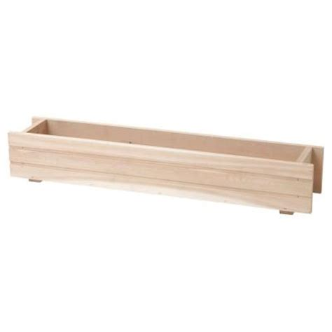 dmc 36 in basic window box cedar planter 87103 the home