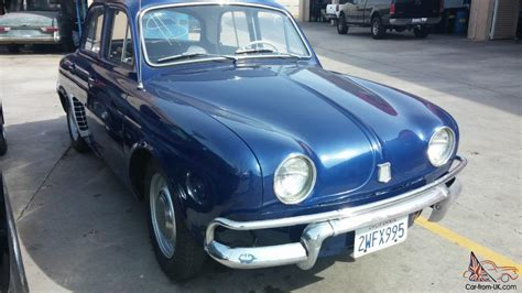 1958 renault dauphine 1958 1959 renault dauphine french classic car