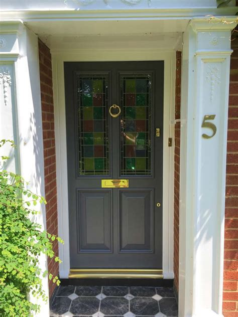 Timber Doors In High Wycombe Kirkman Joinery Painting Glass Panel Doors