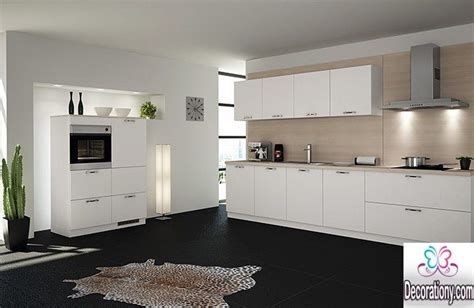 Designs For Small Kitchen Spaces 20 White Kitchens With Dark Floors Ideas Decorationy